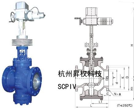 电动减温减压阀WYS945H