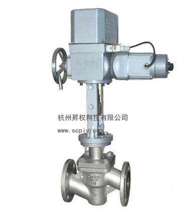 电动衬氟电动调节阀ZAZPF电动波纹管调节阀ZDLPF46型